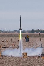 Punisher 3 flying on a CTI J270, launched at Midwest Power 13.